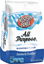 Western Family 5 lb.All Purpose Flour product image.
