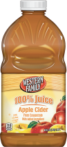 Western Family  64 oz. Select Varieties Apple Cider product image.