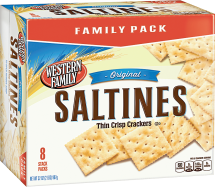 Western Family 32 oz. Family Pack Saltine Crackers product image.