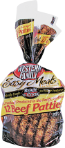 Western Family 3 lb. Ground Beef Patties product image.