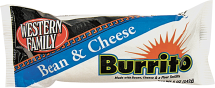 Western Family 5 oz. Select Varieties Burritos product image.
