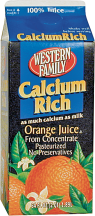 Western Family  64 oz. Select Varieties Orange Juice product image.