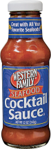 Western Family 12 oz. Select Varieties Cocktail Sauce product image.