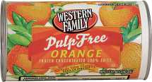 Western Family 12 oz. Select Varieties Frozen Juice product image.