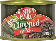 Western Family  2.25 oz. Select Varieties Olives product image.