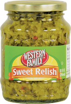 Western Family 10-24 oz. Ketchup, Mustard, Relish or Worcestershire Sauce Select Varieties Condiments product image.