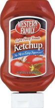 Western Family 20-24 oz. Select Varieties Ketchup product image.