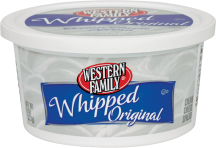 Western Family 8 oz. Select Varieties Cream Cheese product image.