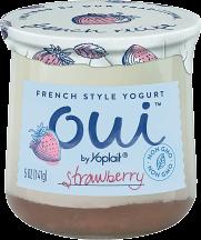 Oui Yogurt product image.