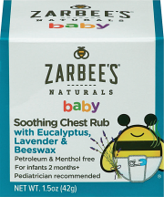 Soothing Chest Rub product image.
