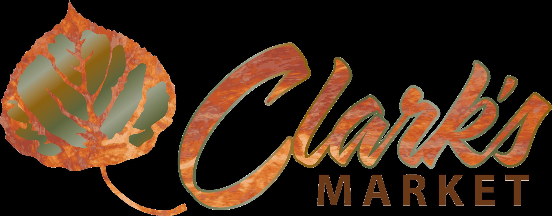 Clark's Market Blanding logo.