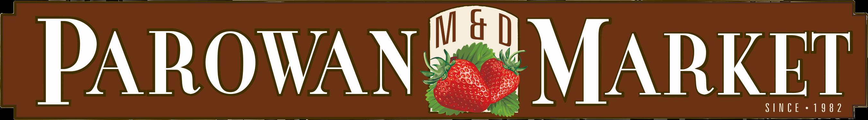 Parowan Market logo.
